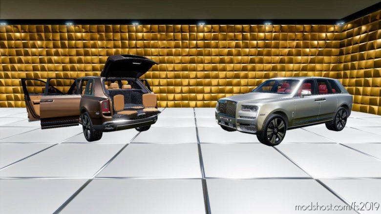 Rolls Royce Cullinan 2019 for Farming Simulator 19