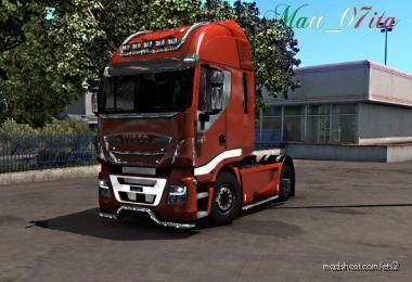 Iveco Hi-Way Chrome Edit By Matt_07Ita (F-Mod/Open Wind. Ready) for Euro Truck Simulator 2