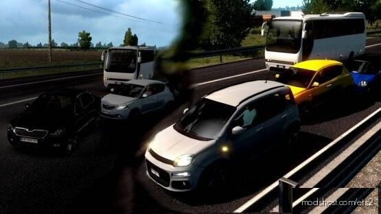 Random Crash & Less Carefully [Hard] [1.39] for Euro Truck Simulator 2