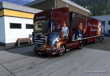 Combo Skin Maradon for Euro Truck Simulator 2