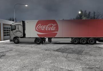 Coca-Cola Skin For Your Trailer for Euro Truck Simulator 2