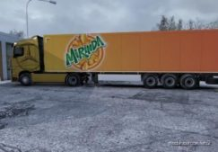 Mirinda Skin For Your Trailer for Euro Truck Simulator 2