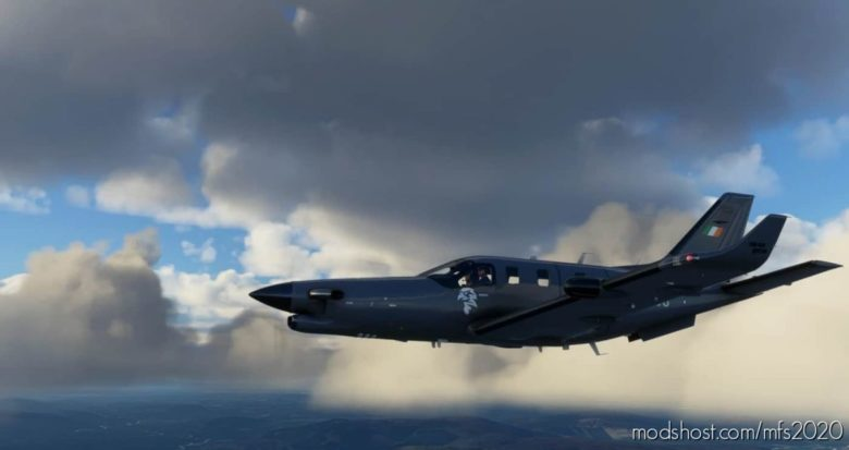Irish AIR Corps TBM 930 for Microsoft Flight Simulator 2020