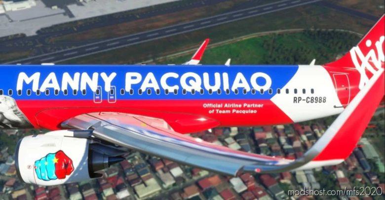 Airasia Philippines (Pacman Livery) 8K [RP-C8988] for Microsoft Flight Simulator 2020