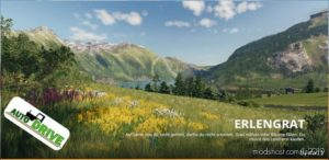 Autodrive Route Network Erlengrat for Farming Simulator 19