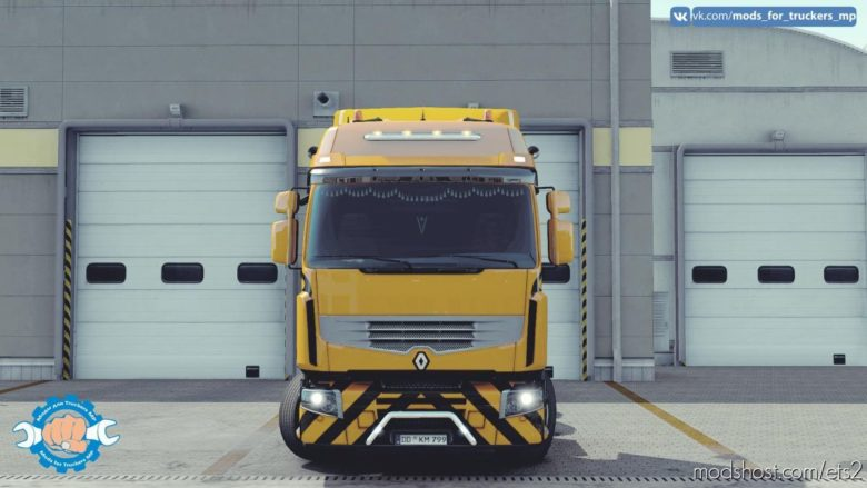 Renault Premium Tuning [MP] [1.38.X – 1.39.X] for Euro Truck Simulator 2