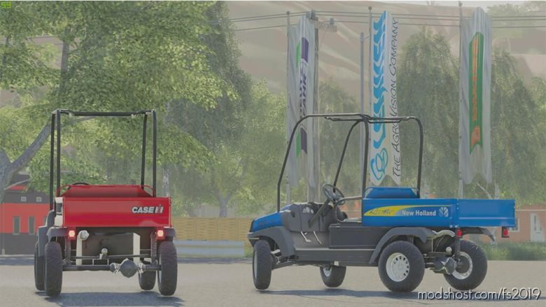 NEW Holland 120 CAR for Farming Simulator 19