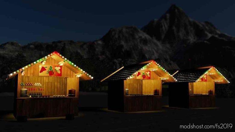 Christmas Market Mulled Wine for Farming Simulator 19
