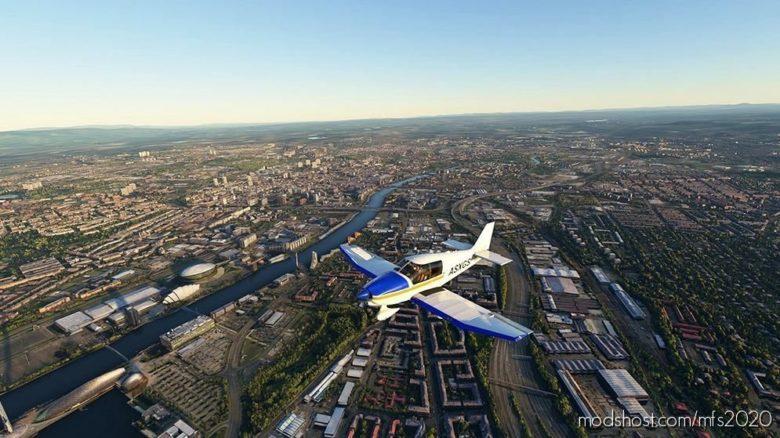 Glasgow – Scotland for Microsoft Flight Simulator 2020
