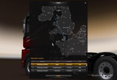 Irish SEA Ferries For Promods V2.51 for Euro Truck Simulator 2