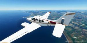 Beechcraft Baron Zk-Kjv for Microsoft Flight Simulator 2020
