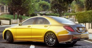 2014 Mercedes-Benz S500 W222 V2.2 for Grand Theft Auto V