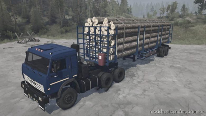 Kamaz-54115 Truck V03.12.20 for MudRunner