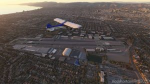 Vtol Aviation's Ksmo Santa Monica Airport for Microsoft Flight Simulator 2020