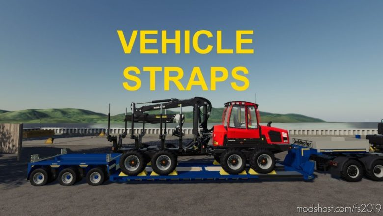 Vehicle Straps for Farming Simulator 19