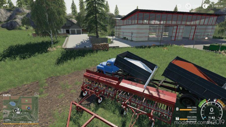 Module Filling The Seeder For GAZ-53 Module Pack V2.5.1 for Farming Simulator 19