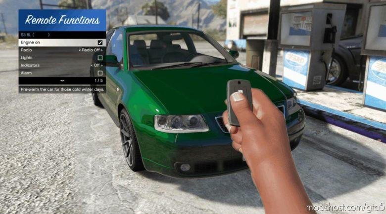 Remote Vehicle Control V1.1.2 for Grand Theft Auto V