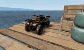 ATV (quad) for BeamNG.drive