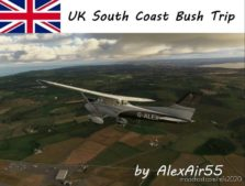 UK South Coast Bush Trip (East To West) for Microsoft Flight Simulator 2020
