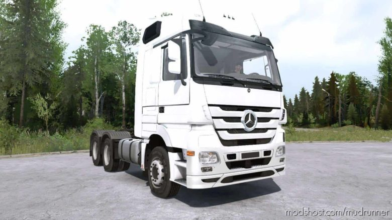 Mercedes-Benz Actros (MP3) Truck for MudRunner