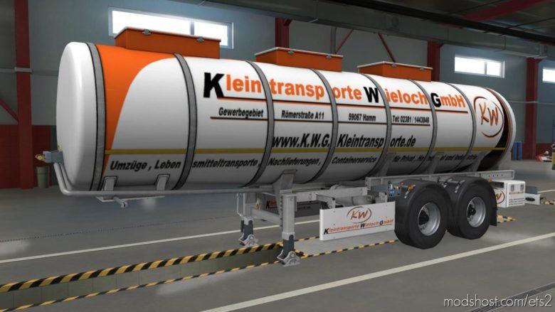 Wieloch Food Tank for Euro Truck Simulator 2