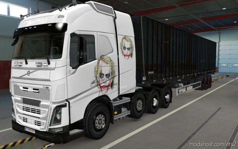 Skin Volvo FH16 2012 8X4 Coringa [1.39] for Euro Truck Simulator 2