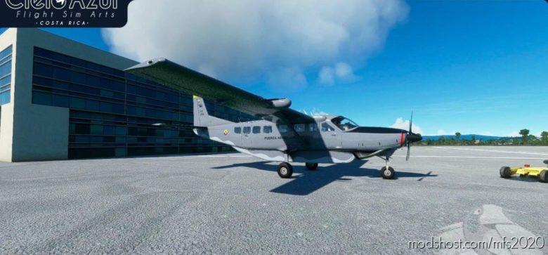Colombian AIR Force   FAC5066 & FAC5067   Asobo Cessna C208B EX Grand Caravan (8K) for Microsoft Flight Simulator 2020