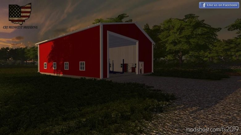 40 X 56 Shop for Farming Simulator 19