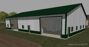 56 X 96 Tool Shed for Farming Simulator 19