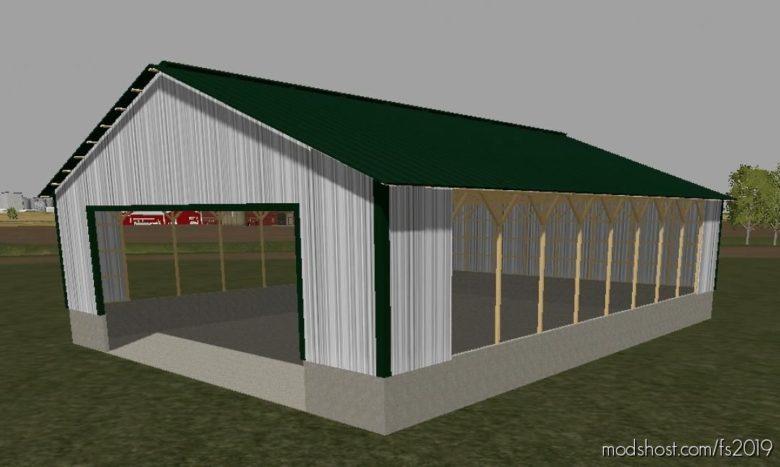 60 X 80 Storage Building for Farming Simulator 19
