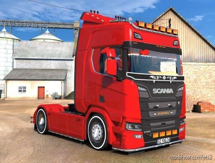 Scania R500 Edit – Yusuf Arda – [1.39.X] for Euro Truck Simulator 2