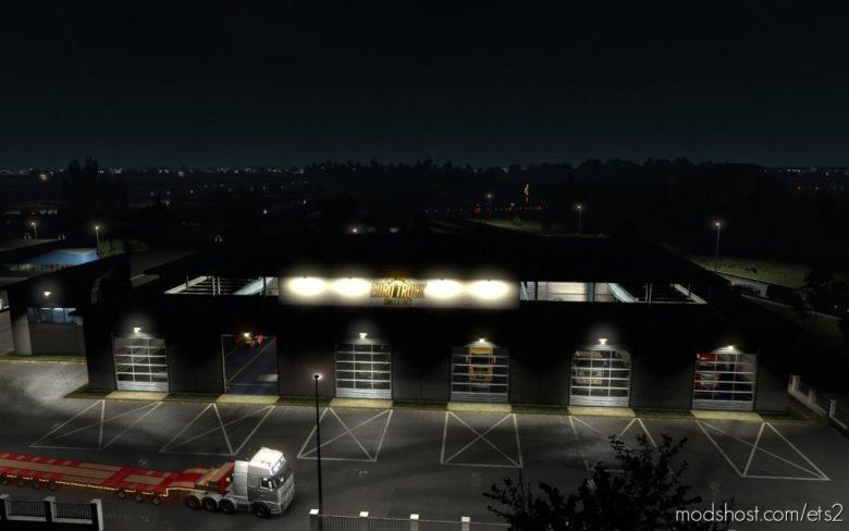 Garage [1.39] for Euro Truck Simulator 2