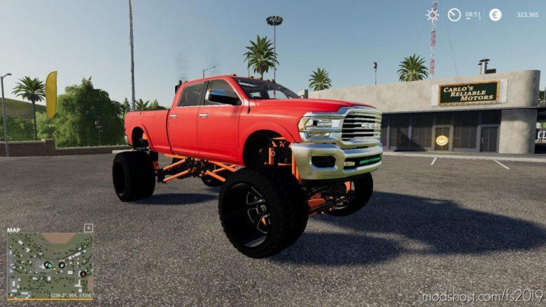 Sema Truck Dodge RAM V3.0 for Farming Simulator 19