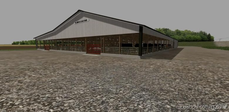 Livestock Sale Barn for Farming Simulator 19