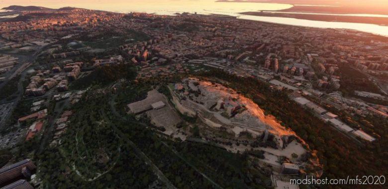 Cagliari for Microsoft Flight Simulator 2020
