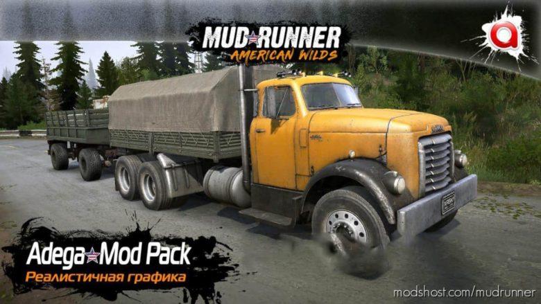 Realistic Graphics Adega Mod Pack Version 3.5 + SP (V11.24.20) for MudRunner