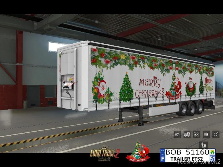 Skin Merry Christmas By BOB51160 for Euro Truck Simulator 2