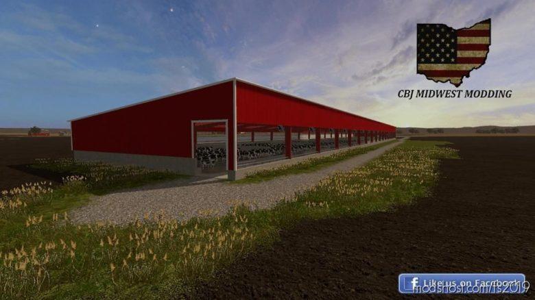 100X660 Cattle Barn for Farming Simulator 19