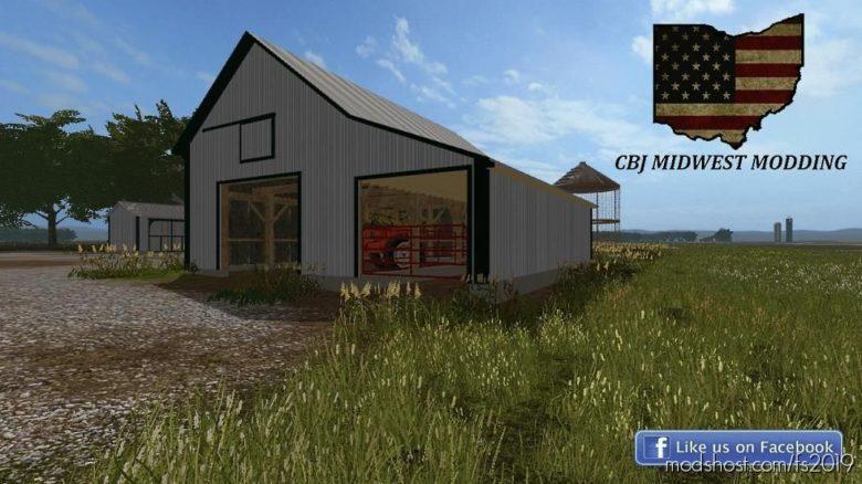 36X40 OLD Building for Farming Simulator 19