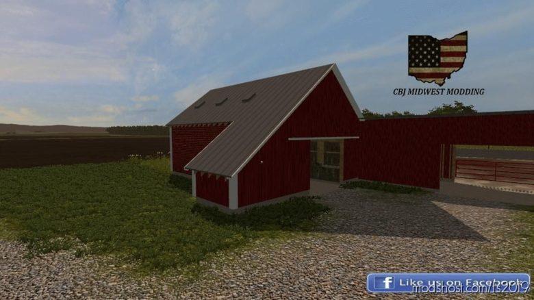 40X40 Corn Crib for Farming Simulator 19