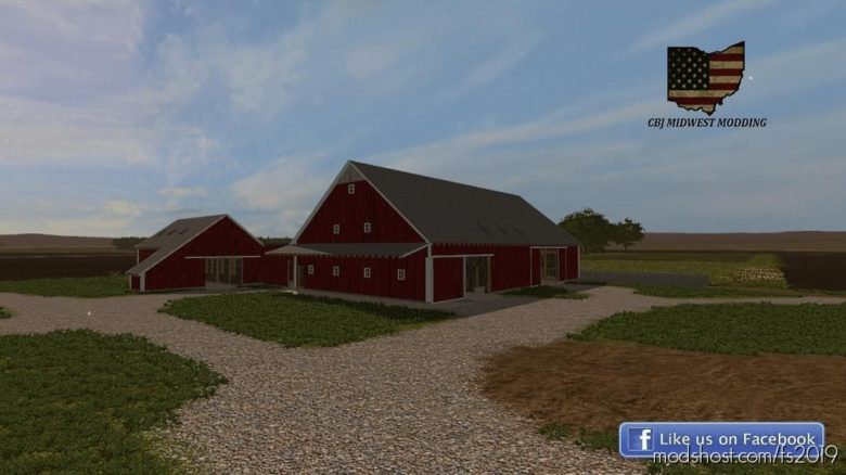 50X90 Barn for Farming Simulator 19