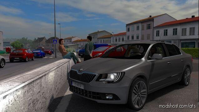 Skoda Superb – Robi Edition for American Truck Simulator