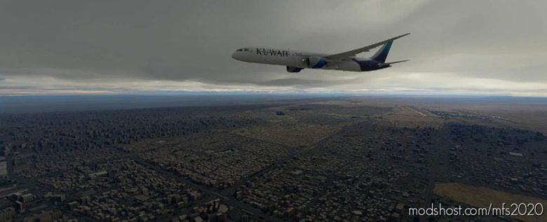 Kuwait Airways B787-10 for Microsoft Flight Simulator 2020