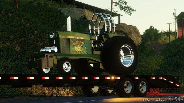 John Deere Pulling Tractor for Farming Simulator 19