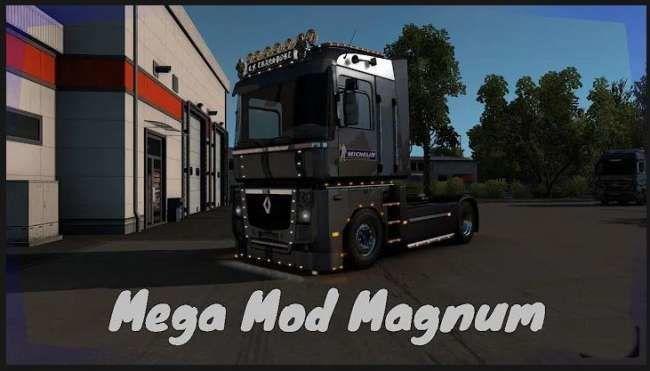 RENAULT TUNING LIGHT ETS2 [1.39] for Euro Truck Simulator 2