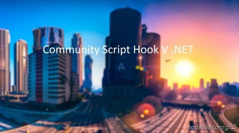 Community Script Hook V .NET 3.0.4 for Grand Theft Auto V