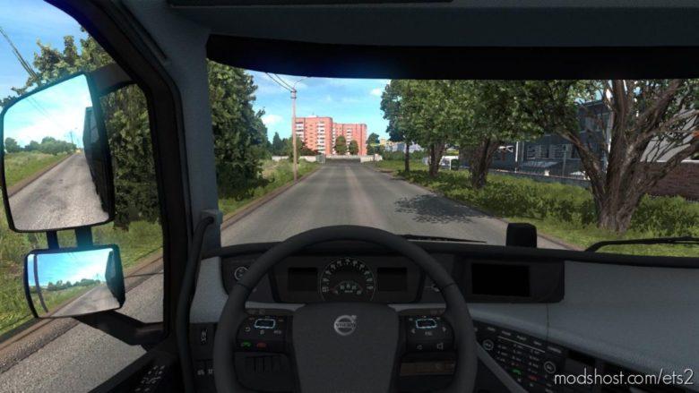 Grey Interior For Volvo for Euro Truck Simulator 2