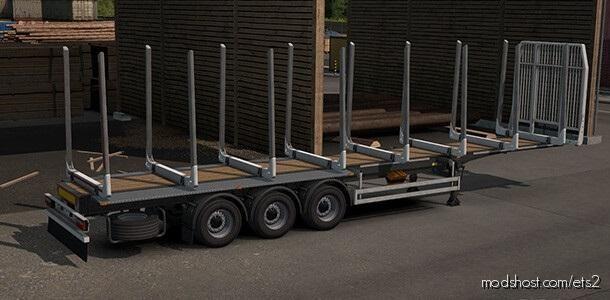 Logging Trailer [1.39] for Euro Truck Simulator 2