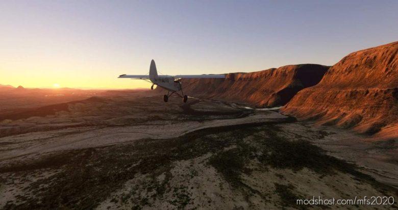BIG Bend National Park Flight Plan for Microsoft Flight Simulator 2020
