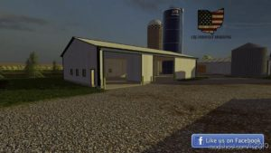 50X80 Tool Shed for Farming Simulator 19